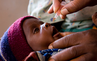 Reducing child mortality rates  Image